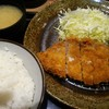 とんかつ工房 - 料理写真:とんかつ定食(税込650円)