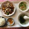 福龍 - 料理写真:酢豚定食=730円 ※ランチタイムメニュー