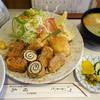 とんかつの 日高 - 料理写真:ミックスフライ定食