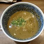 61021732 - 特製極濃煮干しつけ麺 スープ