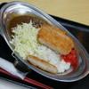 はってん食堂 - 料理写真:キャベツのせカツカレー(480円)2017年1月