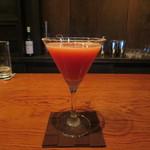 bar K家 - フルーツトマトのカクテル