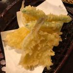 あまねや - キスの天ぷら 250円