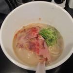 Menya Kotetsu - 料理写真:濃厚 鶏SOBA塩