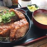 61038929 - ソースカツ丼 ロース