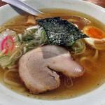 らーめん梵天 - 梵天らーめん(平打麺)
