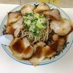 ぺーぱん - 料理写真:醤油野菜 チャーシュー 大盛