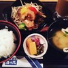 Sakenoana - 料理写真:おろしぽん酢ハンバーグ