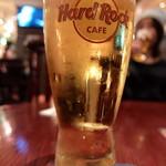 ハードロックカフェ - 麦酒