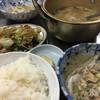 栄食堂 - 料理写真:野菜炒め。300円。タレが美味しい。鱈汁は安定の美味しさ