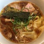 姫路麺哲 - 醤油雲呑(めん)