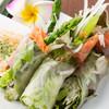 Cafe del Ibiza - 料理写真:新鮮野菜たっぷり 生春巻き