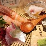 なきざかな –鳴魚- - 漁師の贅沢盛り