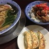 武蔵 - 料理写真:らーめん 武蔵セット