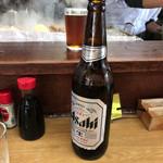 きくや - 2017年01月10日  瓶ビール(アサヒスーパードライ)