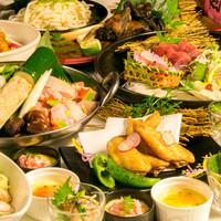 【地鶏宴会プラン】料理7品付2000円~♪飲み放題980円!
