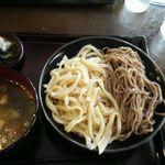 どん太 - 鴨汁・合い盛り850円