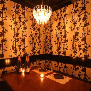 ◆広がる・7つの個室空間・完全個室:2~80名◆