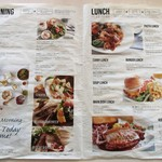 サザンビーチカフェ - モーニング&ランチメニュー