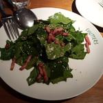 SHUTTERS - ほうれん草サラダ