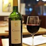 ブラッスリー ロノマトペ - Ch. de Cointes  キリリと酸味があるしっかりした赤は スパイシーさがありながらもとても飲みやすい!