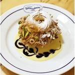 ブラッスリー ロノマトペ - 大きな濃厚パリブレスト!