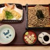 東京シェフズキッチン 日本そば あずみ野 - 料理写真:天ざるそば、1070円です。