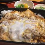 百万石 - かつ重定食(750円)