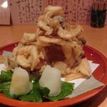 まる作 - 白海老の唐揚げ