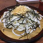 柳川 - ざるうどんヽ(*´∀`)380円