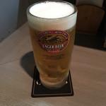 山の底 - 生ビール