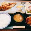 湊や - 料理写真:自家製一夜干し焼きサバ定食  840円
