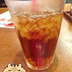 たこ焼 十八番 - 烏龍茶