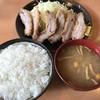とんかつ 一 - 料理写真:【2017.1.5】ゲタとんかつ¥600
