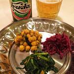 亜州食堂 チョウク - 前菜三種盛り(インド料理)/DinnerMenu