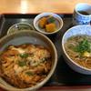 道の駅 San Pin中津 - 料理写真:ほろほろ丼ミニ麺セット