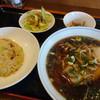マルナカ中国麺飯食堂 - 料理写真:ラーメンセット(880円)