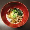 游水亭 いさごや - 料理写真:年越し蕎麦