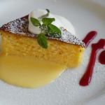 銀座 ポルトファーロ - リコッタチーズケーキ