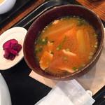 和カフェ yusoshi - 豚汁