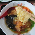 沖海月 - 麺