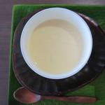 沖海月 - 茶碗蒸しの具は、アサリ3個!
