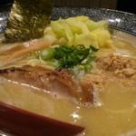 かぐら屋 - 濃熟鶏そば 2017年1月12日