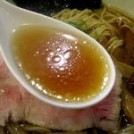 麺や 福一 - 出汁と油分のバランスが良いスープ!