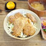 ネマルカフェ - ソースカツ丼(950円)