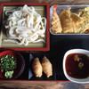 隈屋 - 料理写真:天ざるセット=730円 ランチタイムサービス