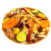 安東人参チムタッ(鶏肉のピリ辛蒸し焼き)