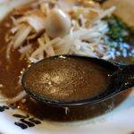 永斗麺 - さんまラーメン 780円 + ご飯(小) 80円