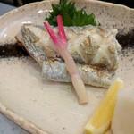 旬魚菜 しら川 - 太刀魚塩焼き