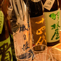 こだわりの日本酒を、お食事に合わせて。